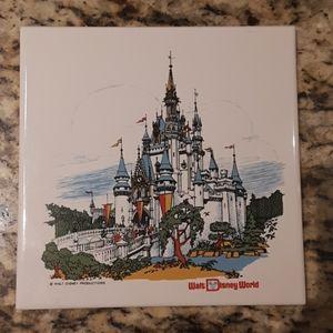 Vintage Disney Tile/hot plate